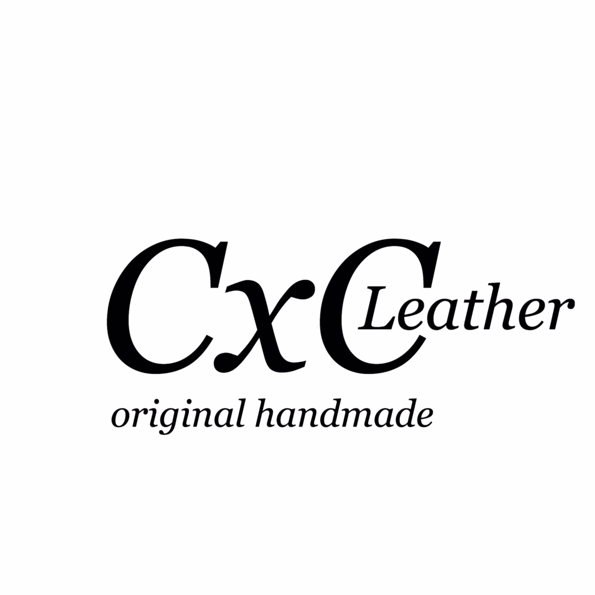 cxcleather CxC Leather シーバイシーレザー ブランドロゴ