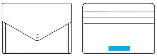 ミニウォレット(フラグメント・ボタン)-名入れ位置