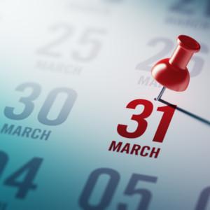 3月31日